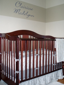 The crib corner.