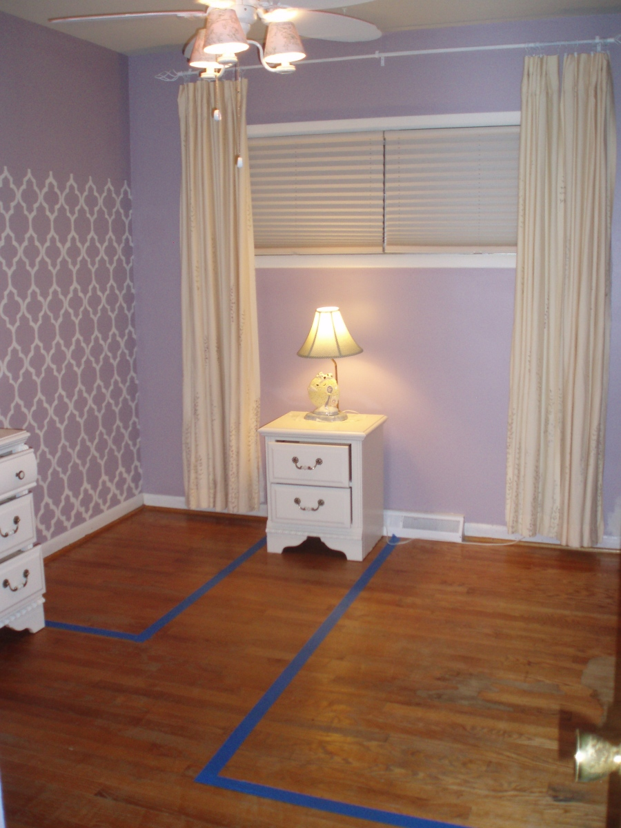 Claire's Toddler Room (Part III): Paint-a-palooza!